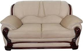 Buy Two Seater Sofa Vintage Ivoria Fabric 2 Seater Sofa Price In India Buy Vintage