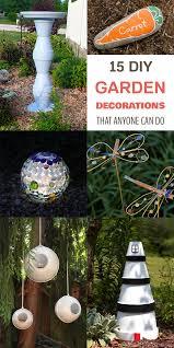 diy garden decorations that anyone can do
