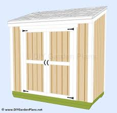Diy Wood Shed Plans Free by Easy To Follow Guide To Build A Small Lean To Shed Outdoor Sheds