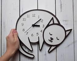 nursery clockwhale giftlarge wall clock modern wall