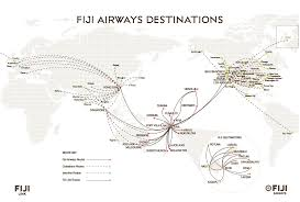 Alaska Route Map by Flight Route Map Fiji Airways