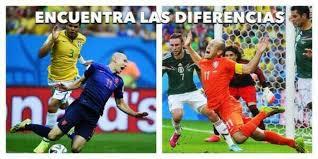 Robben Meme - cillessen y robben las figuras de los memes tras partido brasil