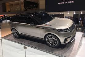 land rover velar for sale range rover velar revealed fourth model to take on porsche and