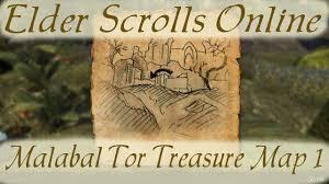 Eastmarch Ce Treasure Map Malabal Tor Treasure Map 1 Elder Scrolls Online Youtube