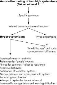 two new theories of autism hyper systemising and assortative
