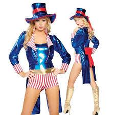 Halloween Costumes Magician Shiny Blue Ladies Ringmaster Costume Circus Mischievous