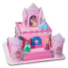disney princess cake topper decoration castle kit cupcake belle