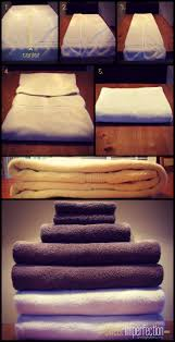 Towel Decoration For Bathroom by Best 25 Fold Towels Ideas On Pinterest How To Fold Towels