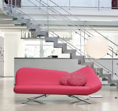 Pink Sofa Bed 2 Seater High Back Pink Sofa By Dare Studio