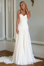 low waist wedding dress drop waist chiffon wedding dress 1667