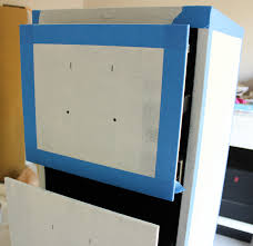 How To Paint A Filing Cabinet File Cabinet Makeover Design Improvised