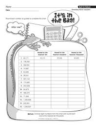 add this rounding whole numbers worksheet into your back to