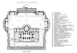 baths of caracalla floor plan baths of caracalla wikiwand