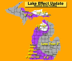 White Lake Michigan Map by Lake Effect Snow Update Heaviest Snow Areas In Michigan Now