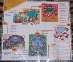 Epcot Center Map The Maz Disney Blog Epcot U0027s 30th Maps
