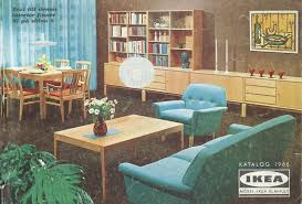 ikea catalogues covers from 1951 2015 mcm home pinterest