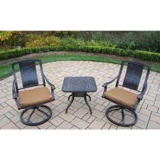 Sunbrella Bistro Chair Cushions Cushions Bistro Sets Patio Dining Furniture The Home Depot