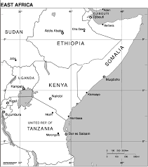 Map Of East Africa by Map Of Africa East Africa Worldofmaps Net Online Maps And