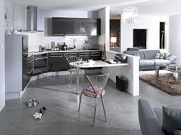 salon et cuisine ouverte cuisine ouverte sur salon une solution pour tous les espaces