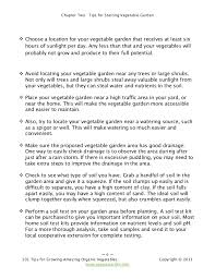 What Type Of Soil For Vegetable Garden - 101 tips for growing amazing organic vegetables