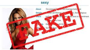 Blog   Dating News Dating News fake profile