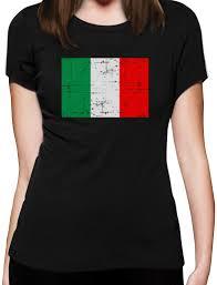 Italian Flag Origin Italy Flag Vintage Style Retro Italian Women T Shirt Gift Idea Ebay