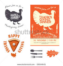 thanksgiving invitation stock images royalty free images