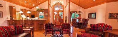 sun valley lodge dining room sunset valley luxury lodge u0026 cabin heartland lodge