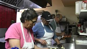 preparations being made for annual thanksgiving in the valley meal