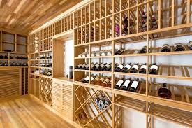Custom Luxury Wine Cellar Designs Home Stratosphere - Home wine cellar design ideas