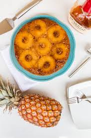 bourbon pineapple upside down cake olive u0026 mango