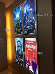 lighted movie poster frame cheap movie poster frames dinosauriens info