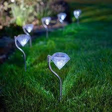 Solar Stake Garden Lights - outdoor solar lighting glow garden lighting lighting idea 5 best