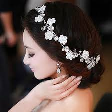 hair ornaments handmade lace bridal headdress flower flower hair ornaments