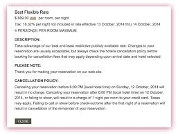 Cancellation Letter Policy Exclusive Marriott To Adopt New Hotel Cancellation Policy On Jan