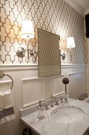art deco inspiration love this for the small bathroom or under