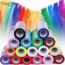 tulle rolls multi color wedding tulle ebay