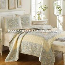 bedroom 100cotton printed quilting king size quilt set