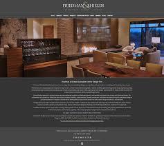 web design and development portfolio friedman and shields