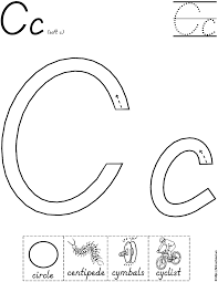 letter c coloring pages all coloring pages