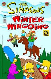 simpsons winter wingding 5 one flu springfield freezer