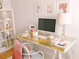 White And Pink Desk by Photo Page Hgtv