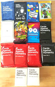 cards against humanity expansion cards against humanity 14 booster expansion packs house party