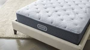 Simmons Natural Comfort Mattresses Simmons Beautyrest Silver Plush Mattress Crate And Barrel
