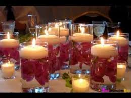 Diy Table Centerpieces For Weddings by Diy Table Decorations For Weddings Youtube