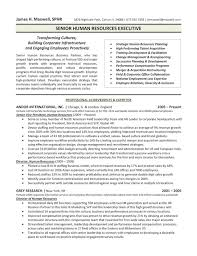 Human Resource Resume Samples by Download Executive Resume Templates Haadyaooverbayresort Com