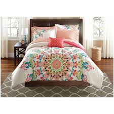 Teen Floral Bedding Bedroom Teen Bedding Sets Mainstays Medallion Bedinabag Bedding