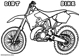dirt bike coloring pages coloring pages download print