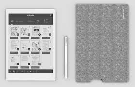 e paper writing tablet prowling dog issue 111 using a stylus you can write and draw on it as well as erase and annotate things you can even rest your hand on it while writing and drawing