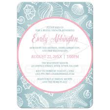 bridal shower beach bridal shower invitations card invitation